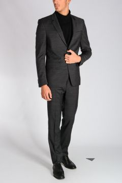 Single Breasted Wool Suit
