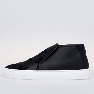 Sneakers SKATE Slip on In Pelle