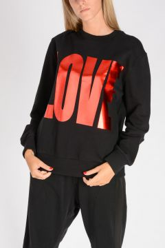Round Neck LOVE Sweatshirt