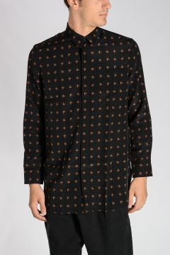 Silk Floreal Printed Shirt