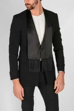 Wool Smoking Blazer