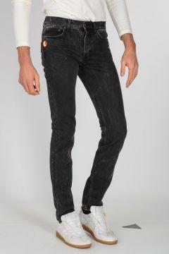 Jeans Denim Effetto Vintage 16cm
