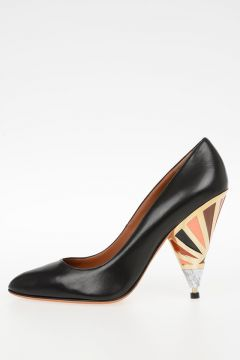 10 cm Leather SHOW Pumps