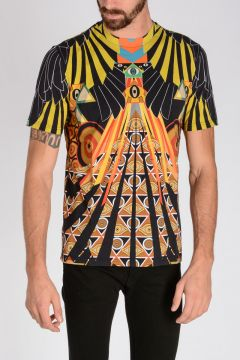 Multicolor Patterned T-shirt