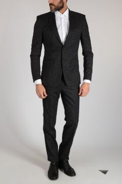 Stretch Wool and Cotton Suit