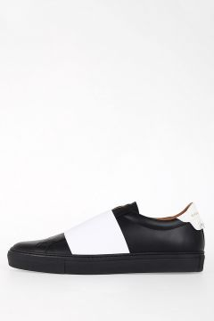 Leather SKATE ELASTIC Slip-on Sneakers