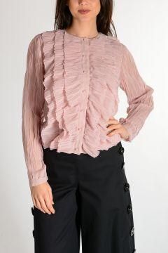 Camicia Con Balze