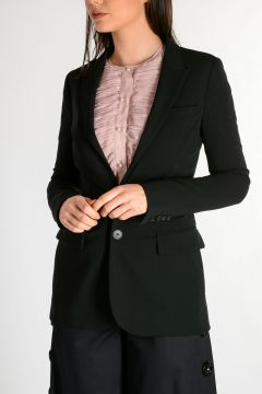 Blazer With Detachable Details