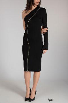 Stretch One Shoulder Dress