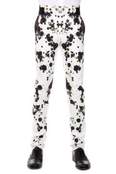 Pantalone con Fantasia Floreale