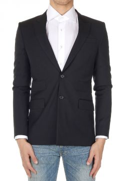 Blazer Monopetto in Lana