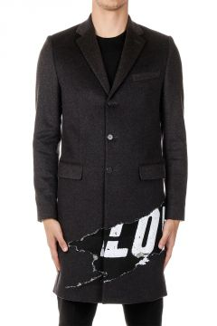 Mixed Cashmere long Coat