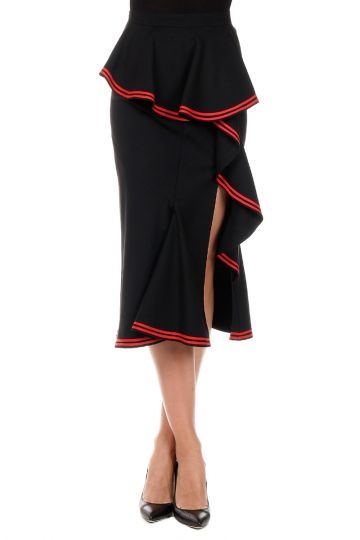 JUPE LOUNGE  Embroidery Skirt