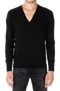 V -neck Wool Sweater