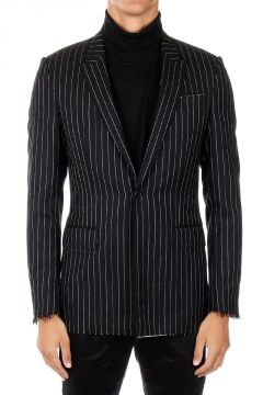 Wool Striped blazer