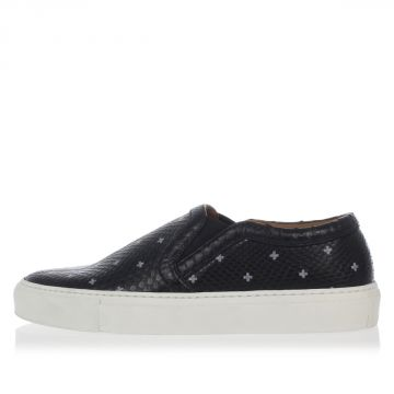 Sneakers Slip On in Pelle di Pitone