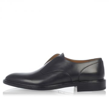 Leather Derby shoes NO LACE