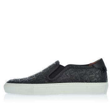 Sneaker Slip on in Pelle