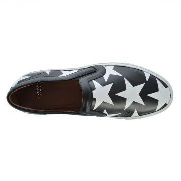 Sneaker SKATE Slip on in Pelle Stampata