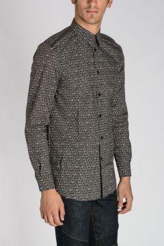 Camicia in Cotone Stampata