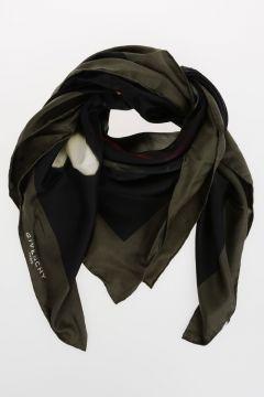 Silk ARMY SKULL Foulard 100x100 cm