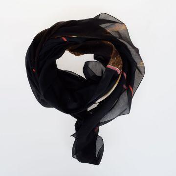 130 x 135 cm Silk Blend Scarf