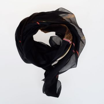 Sciarpa in Misto Seta 130 x 135 cm