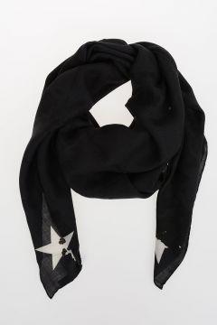 Virgin Wool & Silk Foulard 120x120 cm