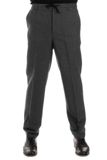 Wool Blend RICKY Pants with Coulisse