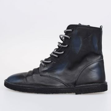 GRAMERCY Leather Ankle Boots