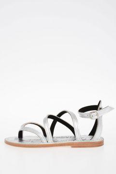 Metallic Leather ZOE Sandals