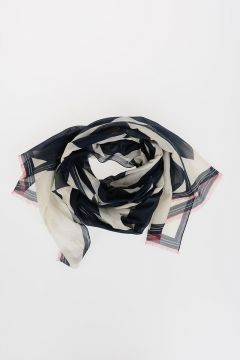 190X65CM Silk Cotton Foulard