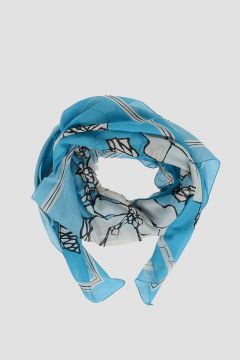 130x130cm Silk Cotton Foulard