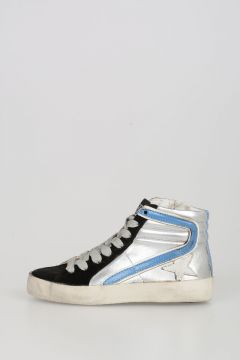 Leather SLIDE Sneakers