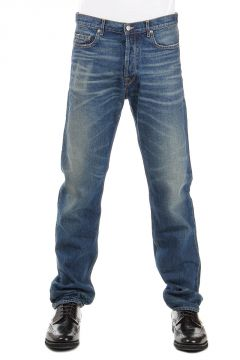 Jeans STANDARD in Denim Delavé 21 cm