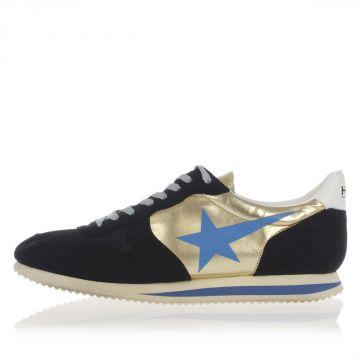 HAUS Sneakers con Stringhe Stampa Stella
