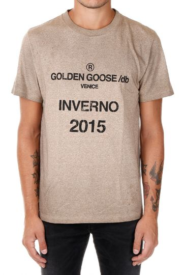 T-shirt in Jersey di cotone Stampa