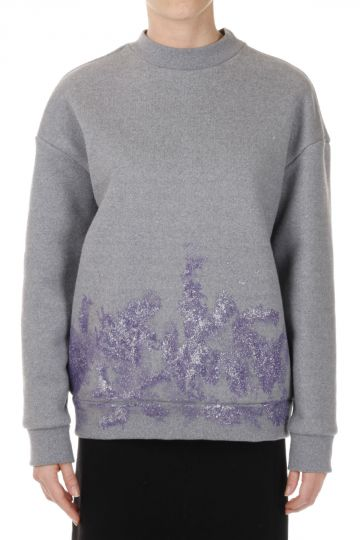 Cotton blend Glitter Sweatshirt