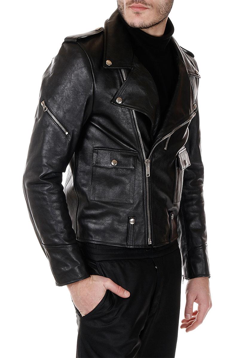 golden goose uomo biker in pelle glamood outlet. Black Bedroom Furniture Sets. Home Design Ideas