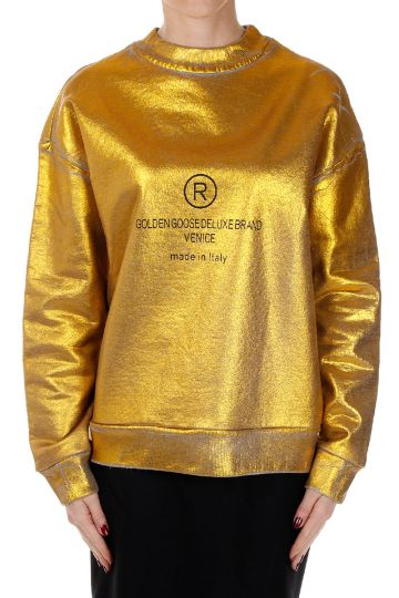 Coated Glitter LAURA Sweatshirt
