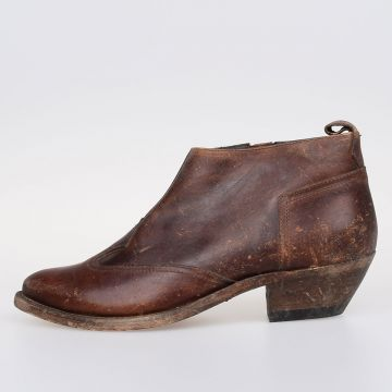 ASIA Leather Ankle Boots
