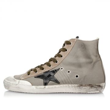 FRANCY High Canvas Sneakers