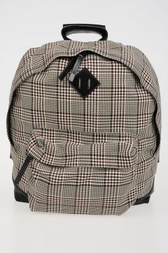 Check Pied De Poule back Pack