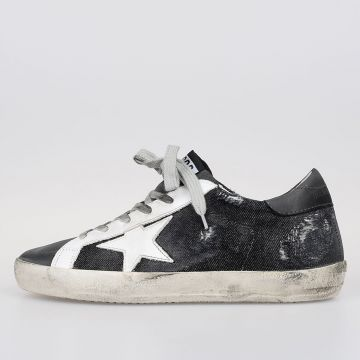Sneakers SUPERSTAR in Denim e Nabuk