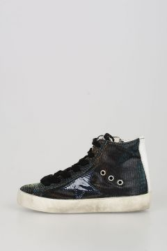 Fabric and Leather FRANCY Sneakers