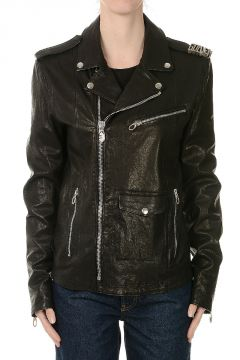 Leather Chiodo Carter Jacket