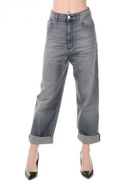 Jeans Denim In Cotone 21 cm