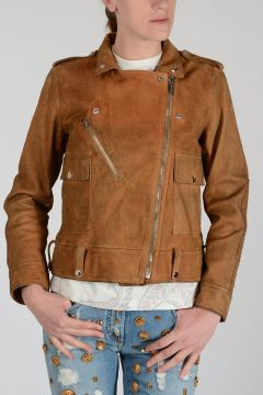 Suede Leather CHIODO Jacket