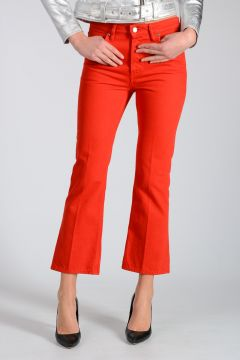Pantalone FUNNY CROPPED FLARE