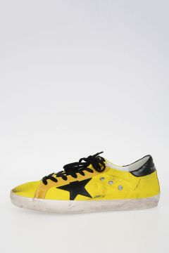 Textile and Suede SUPERSTAR Sneakers